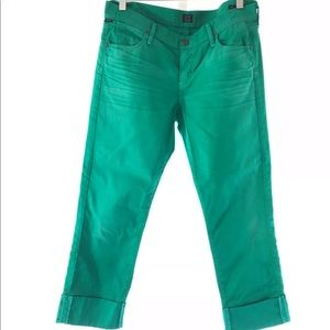 Like New Citizens of Humanity Crop Pants